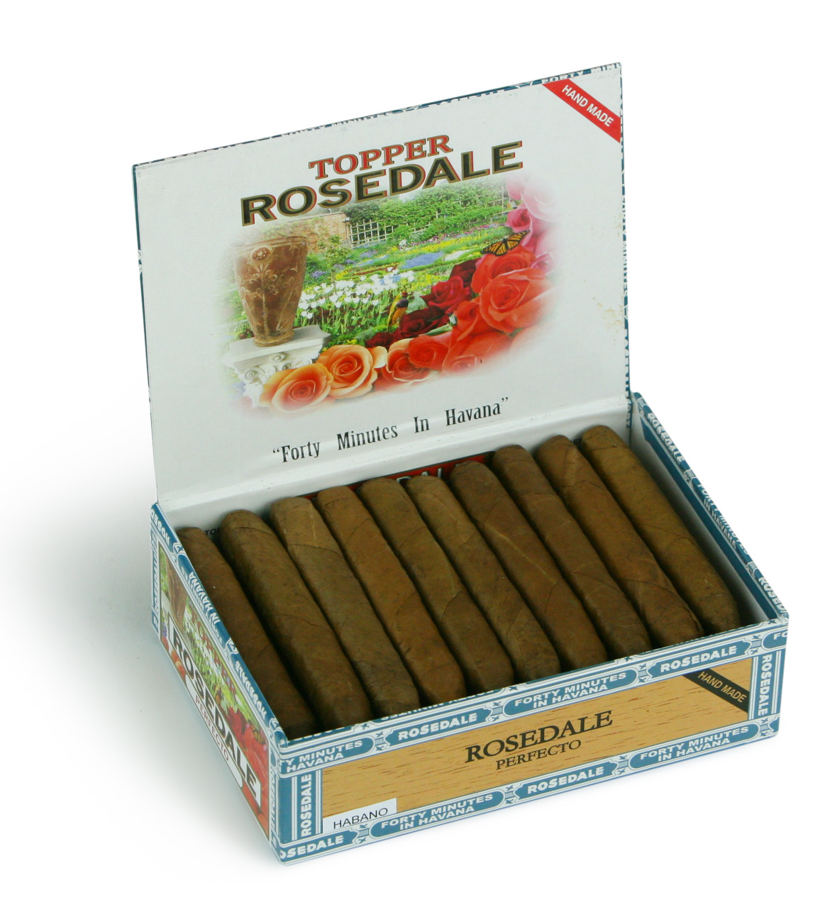 Topper Rosedale Londres Maduro box of 30